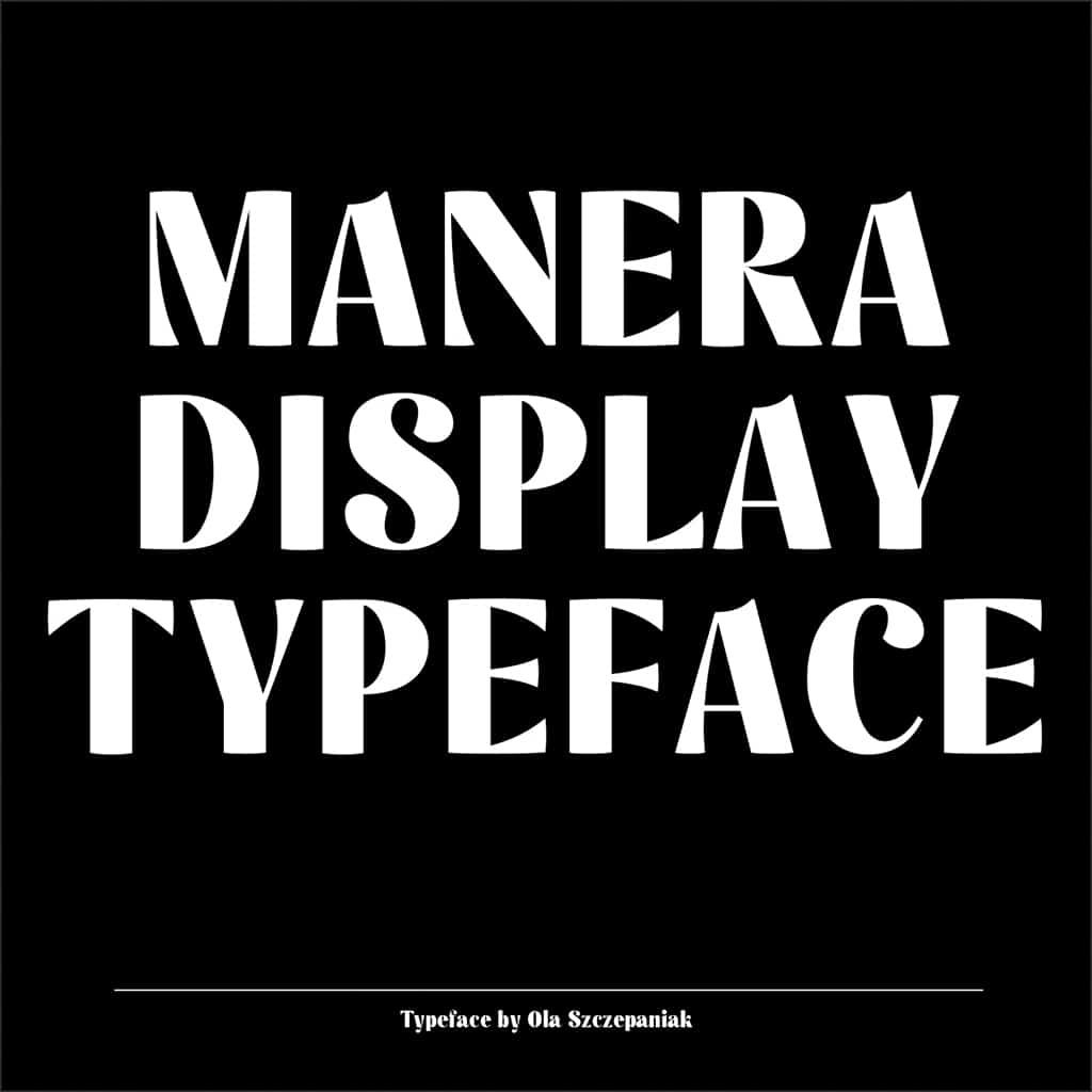 Manera Font